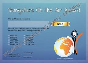 YOTA award example