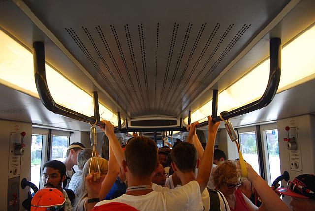 Wednesday - Tram