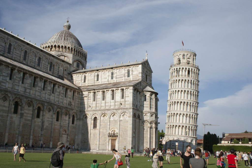 Wednesday - Leaning Tower