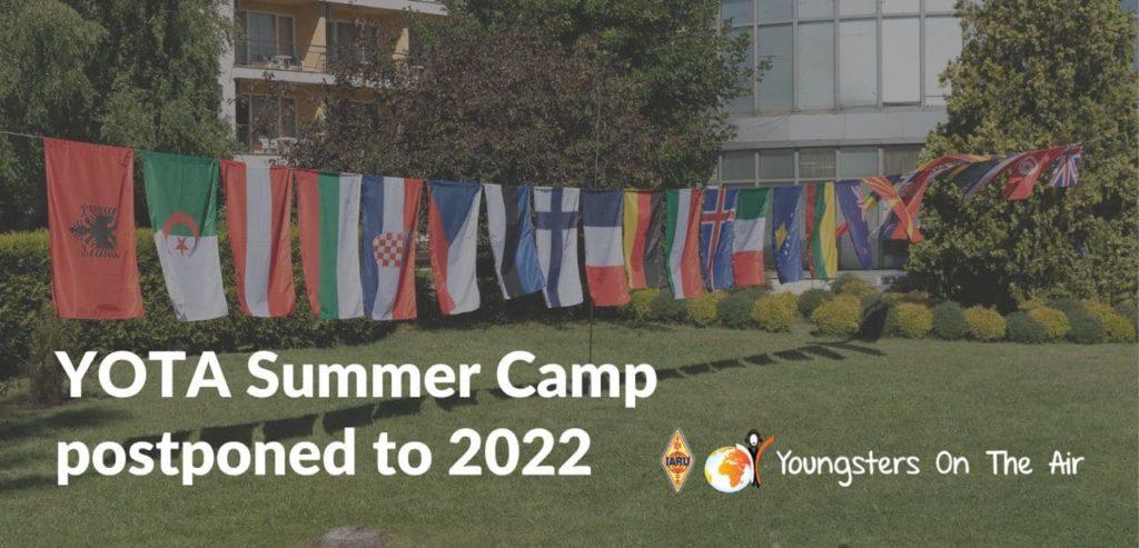 YOTA Summer Camp Croatia – Postponed to 2022