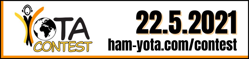 YOTA Contest 2021-05-22 ham-yota.com/contest